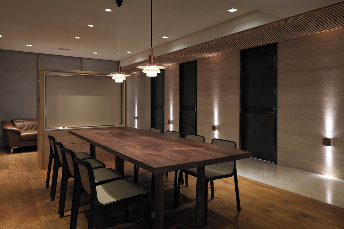 wood dining room design 1